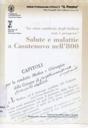 Salute e malattie a Casatenovo nell'800 / [a cura dell'Istituto professionale G.Pessina]