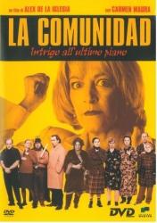 La comunidad [DVD] : intrigo all'ultimo piano / un film di Alex De La Iglesia ; musica Roque Banos ; sceneggiatura Jorge Guerricacheverria [sic]