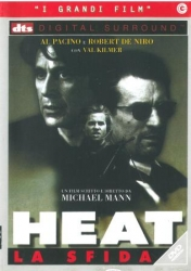 Heat : la sfida [DVD] / un film scritto e diretto da Michael Mann ; musica di Elliot Goldenthal