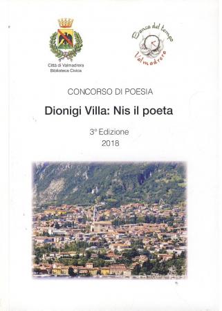 Concorso di Poesia Dionigi Villa: Nis il poeta 3. edizione