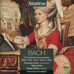 Concerti per clavicembalo [Audioregistrazione] [: BWV 1052, 1054, 1044 e 1056]