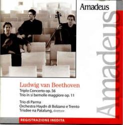 Triplo concerto op. 56  [Audioregistrazione] ; Trio in si bemolle maggiore op. 11