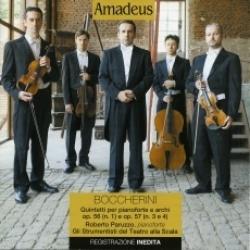 Quintetti per pianoforte e archi op. 56 (n.1) e op. 57 (n. 3 e 4) [Audioregistrazione]