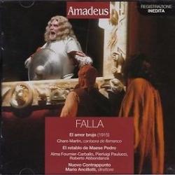 El amor brujo [Audioregistrazione] ; El retablo de Maese Pedro/ Falla ; Nuovo contrappunto ; Mario Ancillotti, direttore
