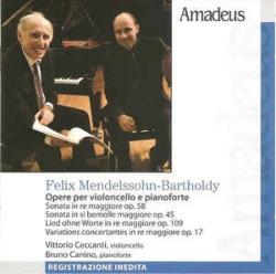 Opere per violoncello e pianoforte [Audioregistrazione]