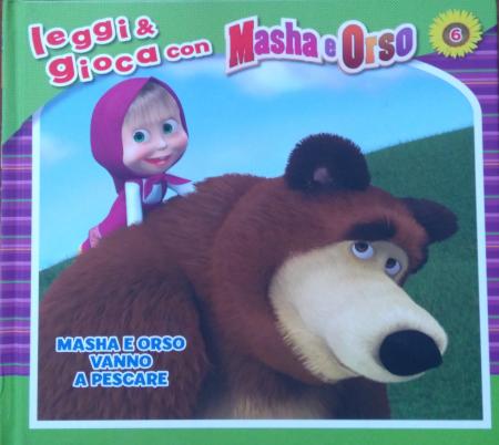 Masha e Orso. Masha e Orso vanno a pescare