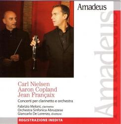 Concerti per clarinetto e orchestra [Audioregistrazione]