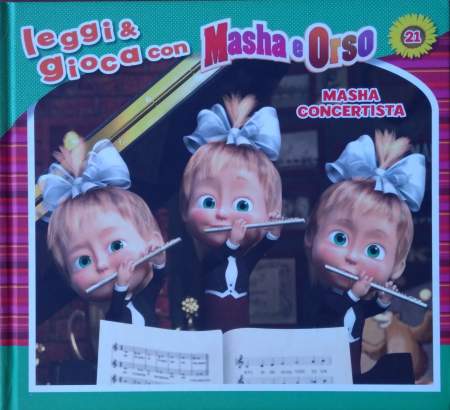 Masha e Orso. Masha concertista