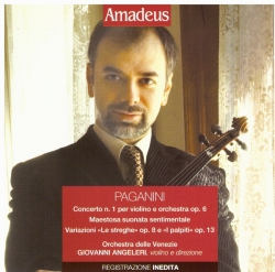Concerto n. 1 per violino e orchestra op. 6 [Audioregistrazione] ; Maestosa suonata sentimentale ; Variazioni Le streghe op. 8 e I palpiti op. 13