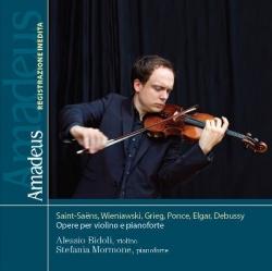 Saint-Saëns, Wieniawski, Grieg, Ponce, Elgar, Debussy  [Audioregistrazione] [: opere per violino e pianoforte]