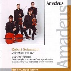 Quartetti per archi op 41. [Audioregistrazione]