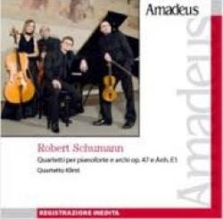 Quartetti per pianoforte e archi op. 47 e Anh. E1 [Audioregistrazione]