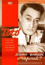 Siamo uomini o caporali? [DVD] / un film di Camillo Mastrocinque ; sceneggiatura di Antonio De Curtis ... [et al.] ; musiche di Alessandro Cicognini