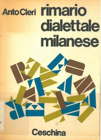 Rimario dialettale milanese / Anto Cleri