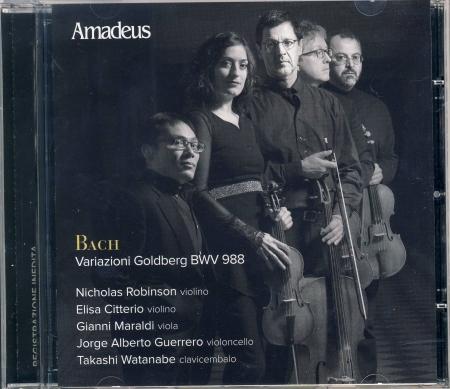 Variazioni Goldberg BWV 988