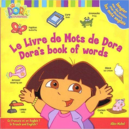 Le livre de mots de Dora