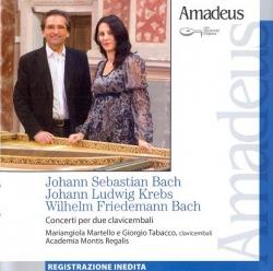 Concerti per due clavicembali [Audioregistrazione]