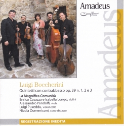 Quintetti con contrabbasso [Audioregistrazione] [: op. 39 n. 1, 2 e 3]