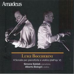 4 sonate per pianoforte e violino (dall'op. 5)