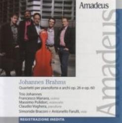 Quartetti per pianoforte e archi op. 26 e op. 60 [Audioregistrazione]