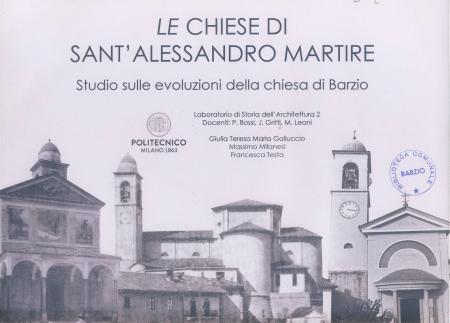 Le chiese di Sant'Alessandro Martire