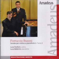 Sonate per violino e pianoforte n. 1 e n. 2 [Audioregistrazione]