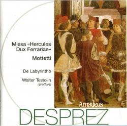 Missa Hercules Dux Ferrariae ; Mottetti [Audioregistrazione]