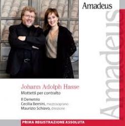 Mottetti per contralto [Audioregistrazione] / Hasse ; Il Demetrio ; Cecilia Bernini, mezzosoprano ; Maurizio Schiavo, direzione