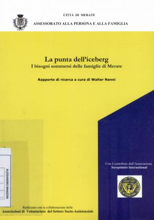 La punta dell'iceberg : i bisogni sommersi delle famiglie di Merate : rapporto di ricerca / a cura di Walter Nanni