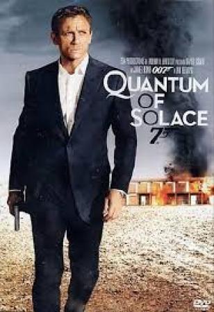 Quantum of Solace.  Agente 007