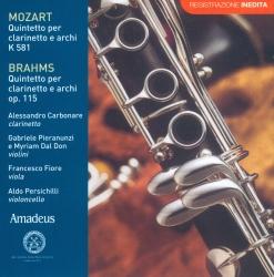 Quintetti per clarinetto e archi [Audioregistrazione]