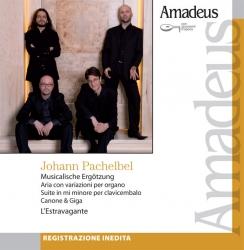 Musicalische Ergötzung [Audioregistrazione] ; Aria con variazioni per organo ; Suite in mi minore per clavicembalo ; Canzone & giga / Pachelbel ; L'estravagante