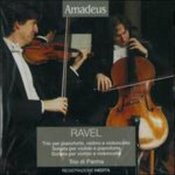 Trio per pianoforte, violino e violoncello [Audioregistrazione] ; Sonata per violino e pianoforte ; Sonata per violino e violoncello