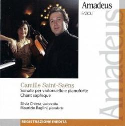 Sonate per violoncello e pianoforte [Audioregistrazione] ; Chant saphique