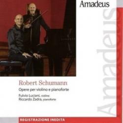 Opere per violino e pianoforte op. 105, op. 121 Wo0 27 [Audioregistrazione] ; Tre romanze op. 94