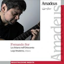 La chitarra nell'Ottocento [Audioregistrazione] / Sor ; Luigi Attademo, chitarra