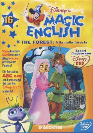 Magic English. [16.] The forest: vita nella foresta