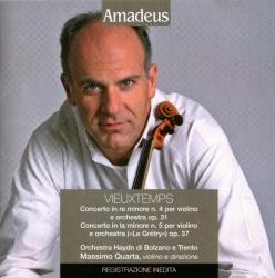 Concerto in re minore n. 4 per violino e orchestra op. 31 ; Concerto in la minore n. 5 per violino e orchestra (Le Grétry) op. 37 [Audioregistrazione]