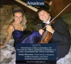 Concerto per violino e orchestra in si minore n. 24 [Audioregistrazione] ; Concerto per violino, pianoforte e orchestra n. 3 e altre composizioni per violino e orchestra