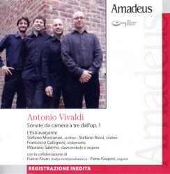 Sonate da camera dall'op. 1 [Audioregistrazione] / Vivaldi ; L'Estravagante
